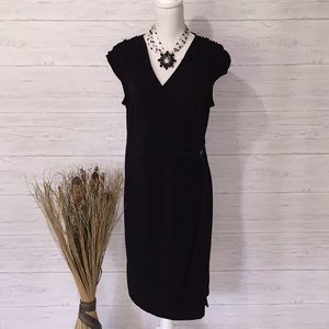 Apt. 9 Black Wrap Dress - XL